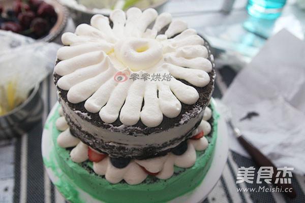 鲜花裸蛋糕的做法大全