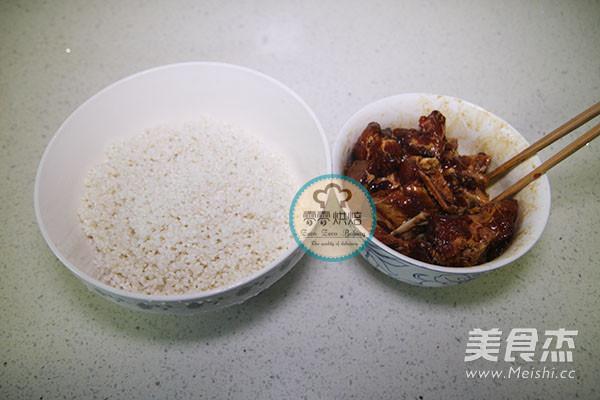 排骨糯米饭怎么煸