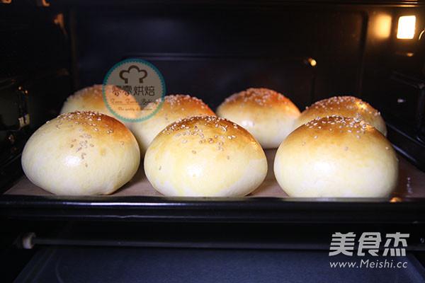 汉堡包面包胚的做法大全
