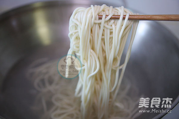 贵州豆豉辣酱风味酱拌面的制作大全