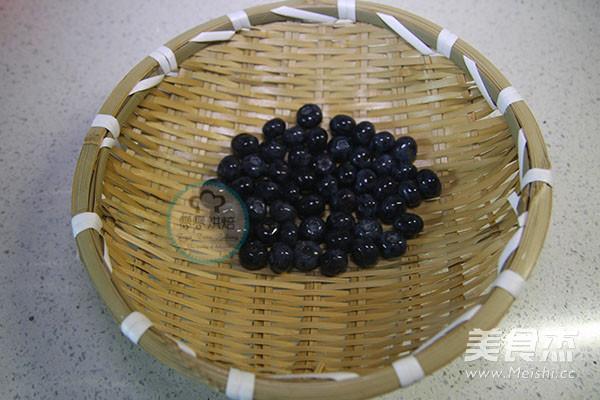 蓝莓冰淇淋的做法图解