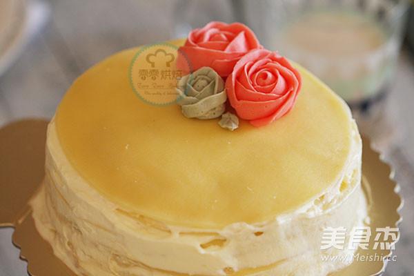 榴莲千层蛋糕可丽饼蛋糕的做法大全