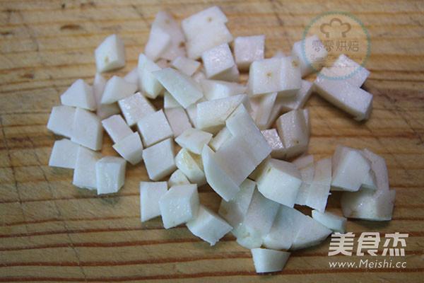 椰汁芒果黑米捞的做法图解