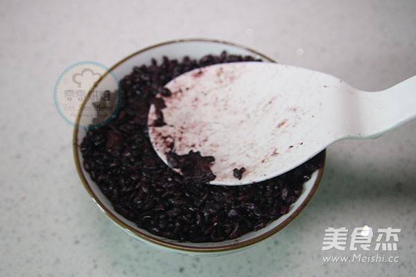 椰汁芒果黑米捞的简单做法