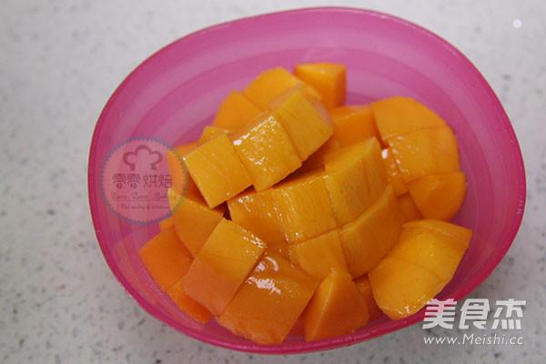 椰汁芒果黑米捞怎么吃
