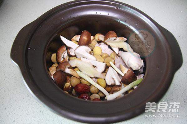 苏泊尔·板栗炖鸡汤的简单做法