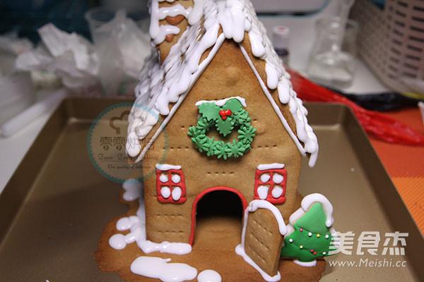 圣诞节姜饼屋的做法大全