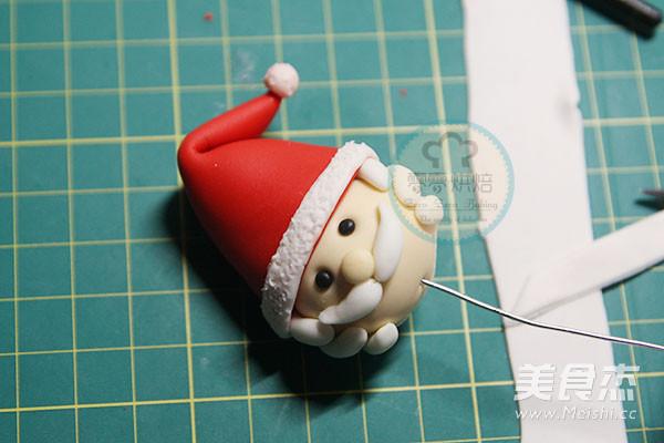 翻糖圣诞老人的家常做法