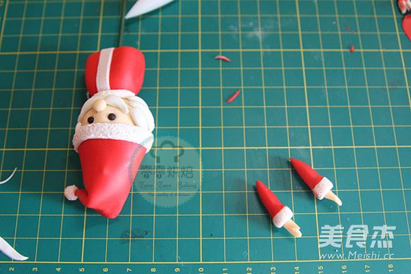 翻糖圣诞老人的简单做法