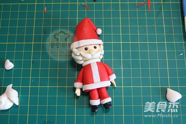 翻糖圣诞老人怎么炒