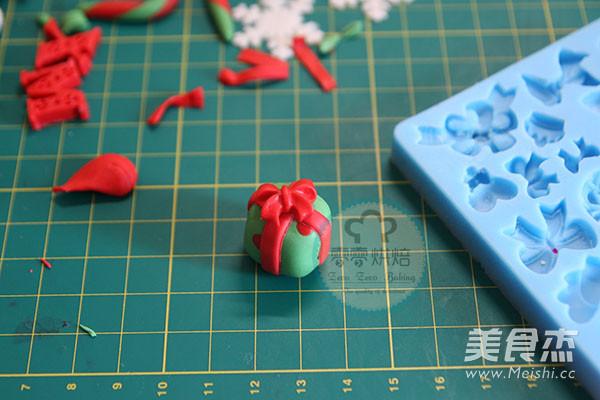 翻糖圣诞老人的制作
