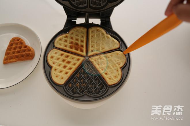 榛子华芙饼的制作方法