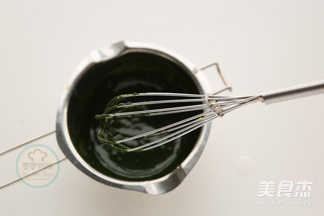 抹茶布丁的简单做法