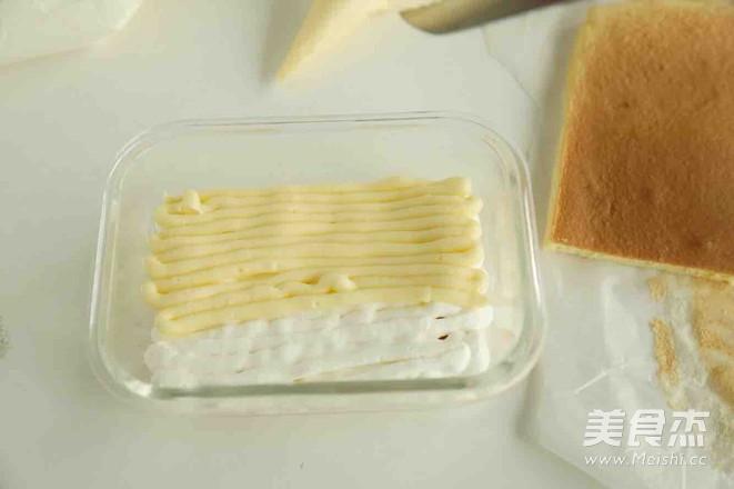 豆乳盒子蛋糕的步骤
