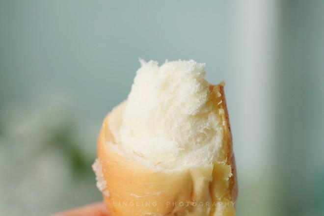 日式盐面包成品图