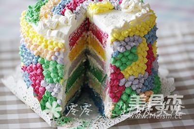 彩虹蛋糕的制作方法