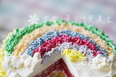 彩虹蛋糕的做法大全