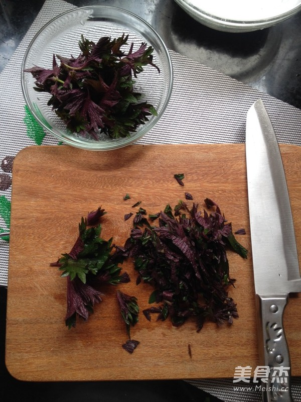紫苏千层饼的简单做法