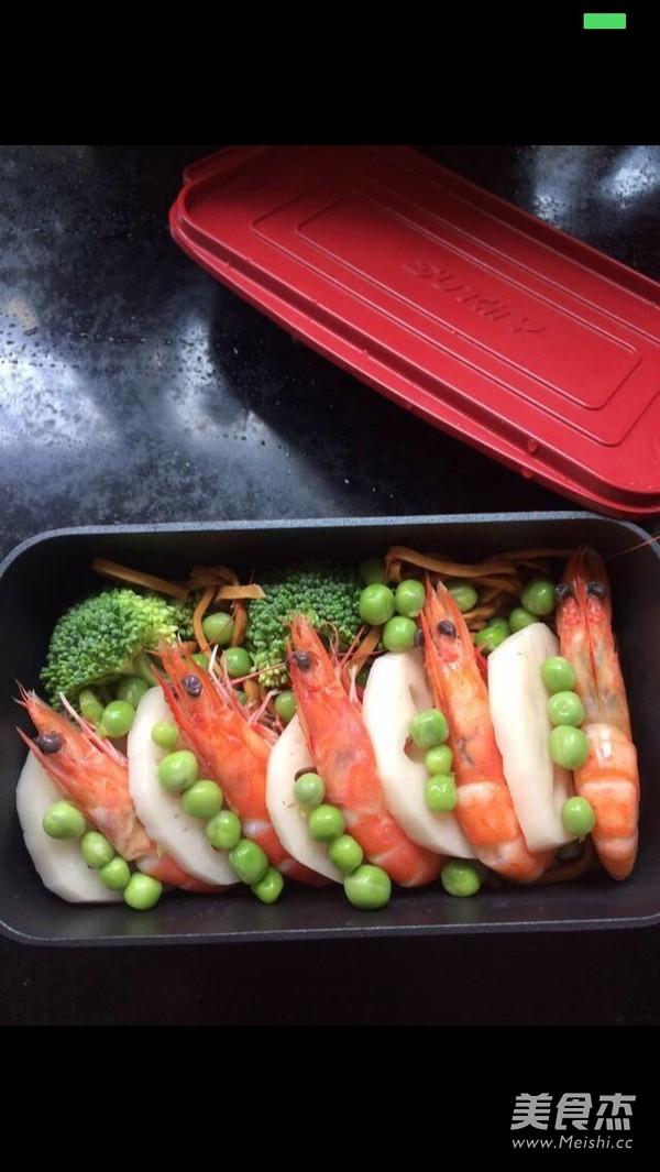 焗虾便当的简单做法