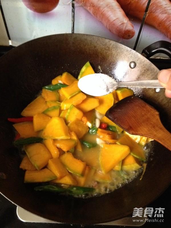 素食之— —蒜瓣南瓜怎么吃
