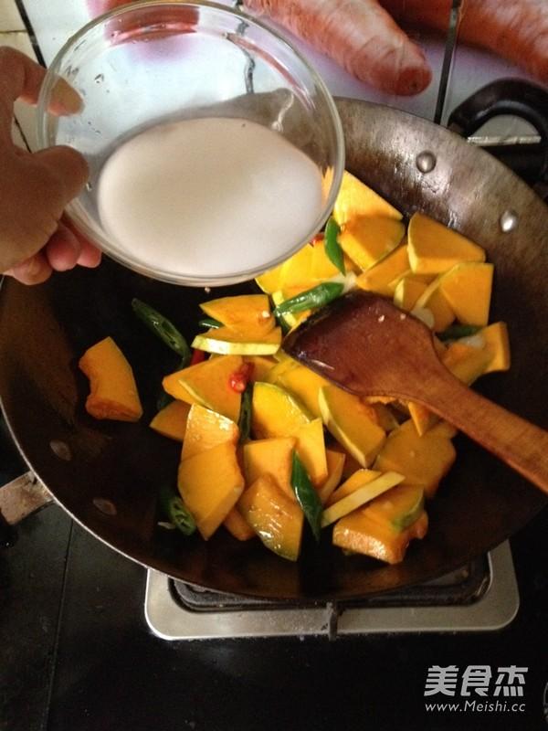素食之— —蒜瓣南瓜的简单做法