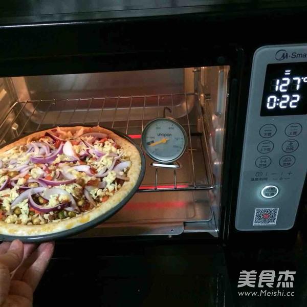 自制肉酱披萨怎么炖