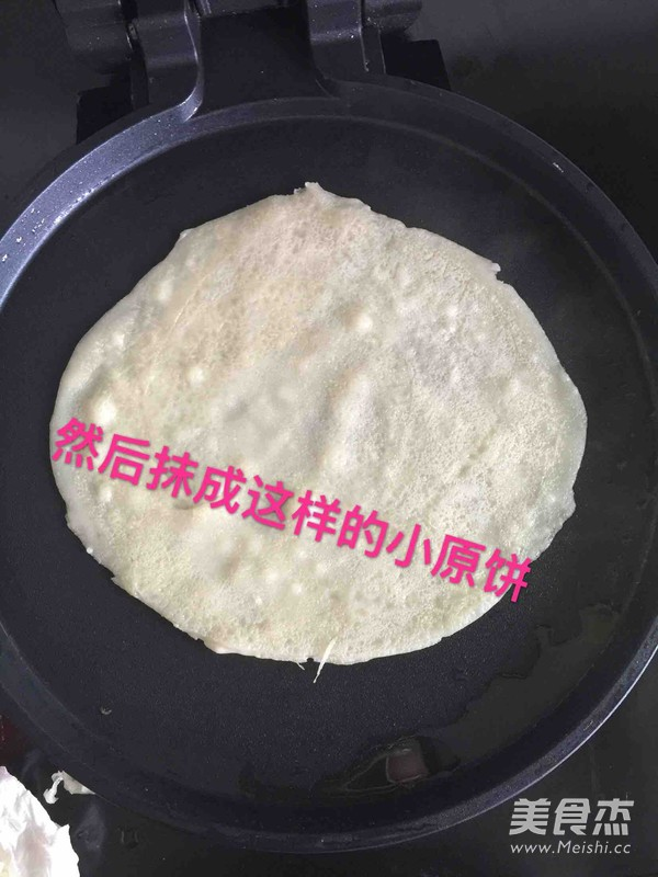 土豆丝炒面饼的简单做法
