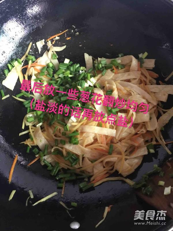 土豆丝炒面饼怎样炒