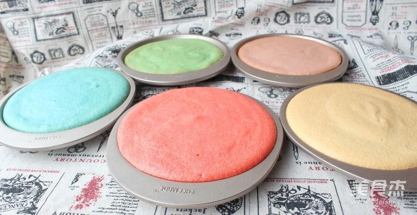彩虹蛋糕怎么吃