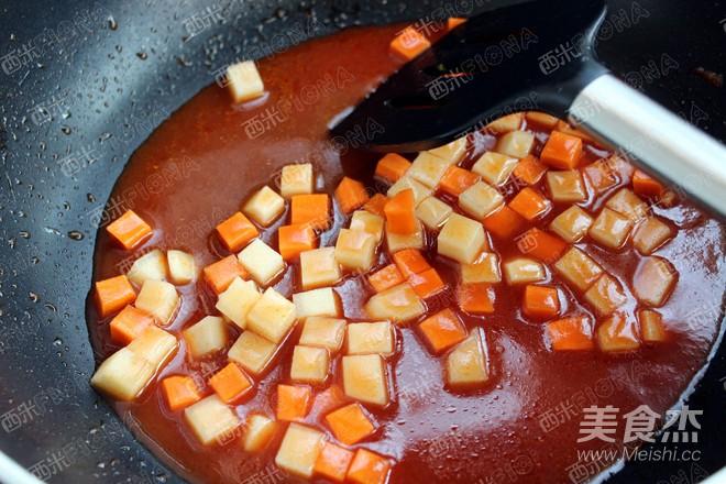 牛肉丸子盖饭怎么炒