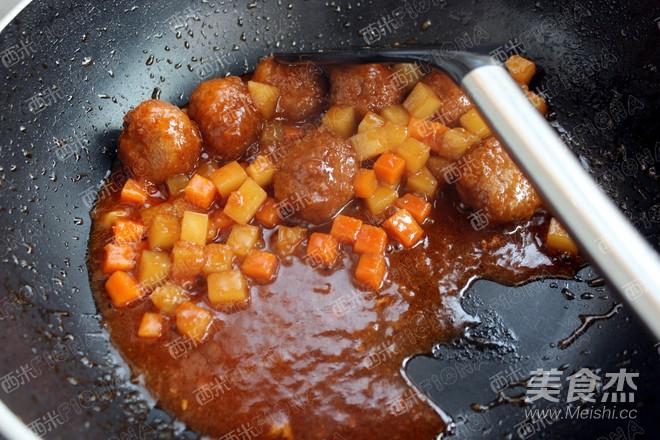 牛肉丸子盖饭怎么煮