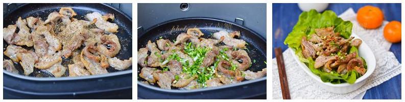 黑胡椒烤五花肉的家常做法