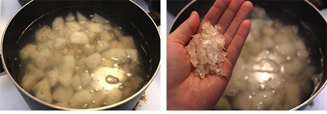百合冰糖炖雪梨的做法图解