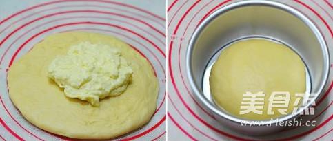 奶酪包的步骤