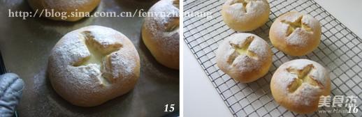 奶汁土豆面包的步骤