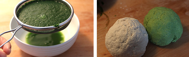 翡翠白菜饺子的做法图解