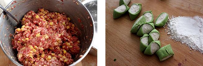 翡翠白菜饺子的家常做法