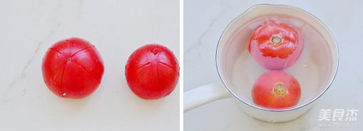 番茄疙瘩汤的步骤