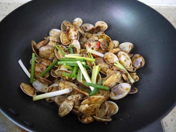 香辣豆瓣炒花甲怎么煮