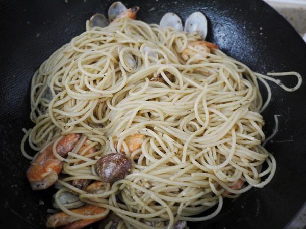 海鲜意大利面怎么煮