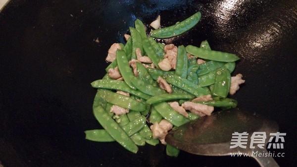 荷兰豆炒肉怎么煮