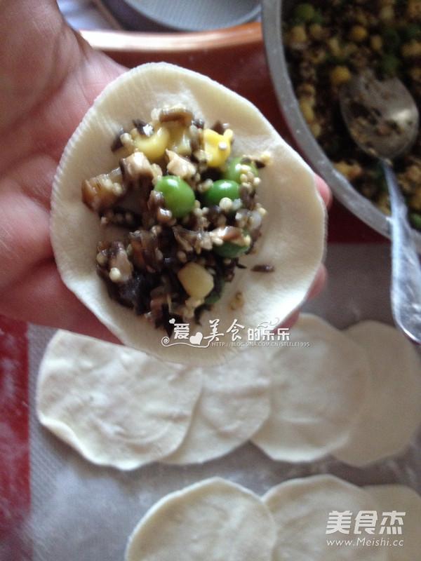 藜麦素馅蒸饺怎么做