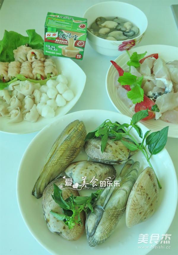 海鲜火锅怎么吃