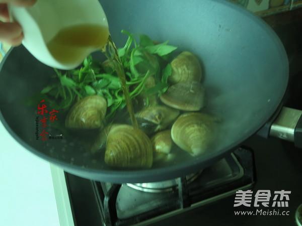 九层塔文蛤怎么吃