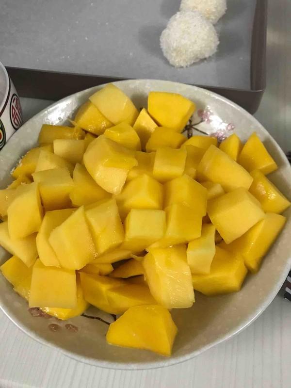 香甜软糯的芒果糯米糍怎么做