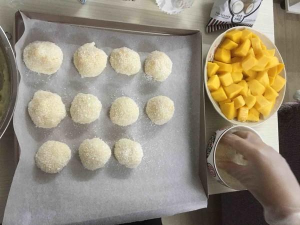 香甜软糯的芒果糯米糍怎么煸