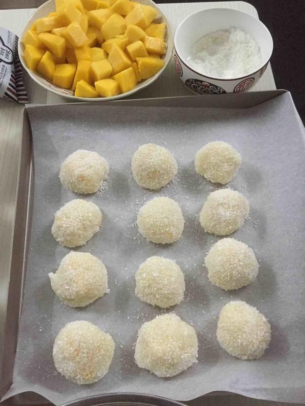 香甜软糯的芒果糯米糍怎样做