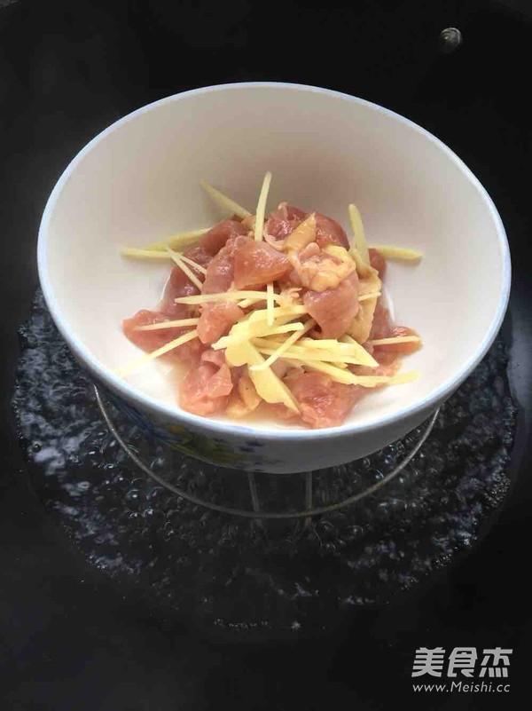 白醋焖鸡块怎么吃