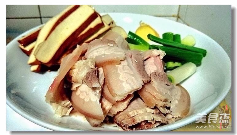 灯影回锅肉的简单做法