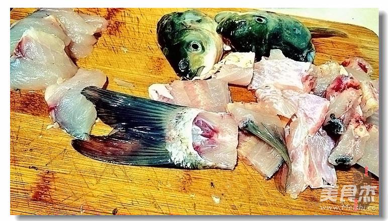 一鱼两吃之 酸菜鱼的做法图解